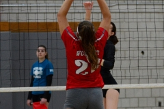 CIAC Girls Volleyball; Wolcott 0 vs. Woodland 3 - Photo # (374)