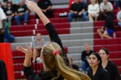 CIAC Girls Volleyball; Wolcott 0 vs. Woodland 3 - Photo # (38)
