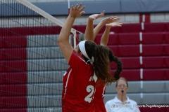 CIAC Girls Volleyball; Wolcott 0 vs. Woodland 3 - Photo # (382)
