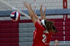 CIAC Girls Volleyball; Wolcott 0 vs. Woodland 3 - Photo # (383)
