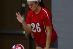 CIAC Girls Volleyball; Wolcott 0 vs. Woodland 3 - Photo # (387)