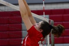 CIAC Girls Volleyball; Wolcott 0 vs. Woodland 3 - Photo # (392)