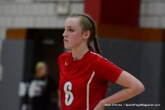 CIAC Girls Volleyball; Wolcott 0 vs. Woodland 3 - Photo # (396)