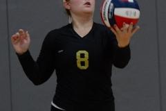 CIAC Girls Volleyball; Wolcott 0 vs. Woodland 3 - Photo # (397)