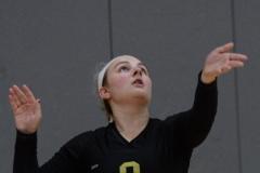 CIAC Girls Volleyball; Wolcott 0 vs. Woodland 3 - Photo # (398)