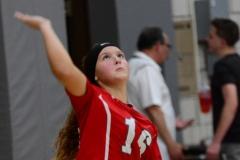 CIAC Girls Volleyball; Wolcott 0 vs. Woodland 3 - Photo # (40)