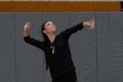 CIAC Girls Volleyball; Wolcott 0 vs. Woodland 3 - Photo # (400)