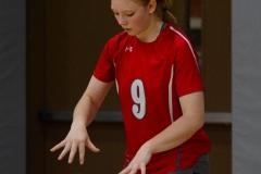 CIAC Girls Volleyball; Wolcott 0 vs. Woodland 3 - Photo # (406)