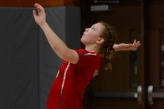CIAC Girls Volleyball; Wolcott 0 vs. Woodland 3 - Photo # (412)