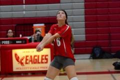 CIAC Girls Volleyball; Wolcott 0 vs. Woodland 3 - Photo # (417)