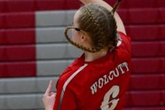 CIAC Girls Volleyball; Wolcott 0 vs. Woodland 3 - Photo # (420)