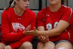CIAC Girls Volleyball; Wolcott 0 vs. Woodland 3 - Photo # (439)