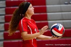 CIAC Girls Volleyball; Wolcott 0 vs. Woodland 3 - Photo # (44)