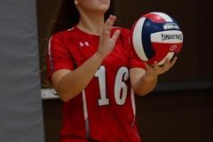 CIAC Girls Volleyball; Wolcott 0 vs. Woodland 3 - Photo # (442)