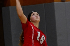 CIAC Girls Volleyball; Wolcott 0 vs. Woodland 3 - Photo # (444)