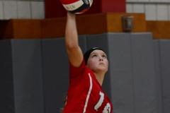 CIAC Girls Volleyball; Wolcott 0 vs. Woodland 3 - Photo # (446)