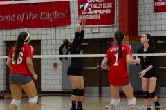 CIAC Girls Volleyball; Wolcott 0 vs. Woodland 3 - Photo # (456)