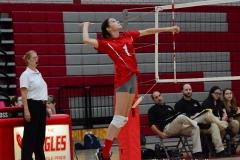 CIAC Girls Volleyball; Wolcott 0 vs. Woodland 3 - Photo # (464)
