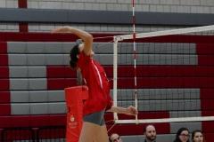 CIAC Girls Volleyball; Wolcott 0 vs. Woodland 3 - Photo # (465)