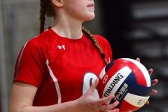 CIAC Girls Volleyball; Wolcott 0 vs. Woodland 3 - Photo # (469)