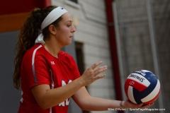 CIAC Girls Volleyball; Wolcott 0 vs. Woodland 3 - Photo # (476)