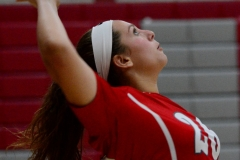 CIAC Girls Volleyball; Wolcott 0 vs. Woodland 3 - Photo # (480)