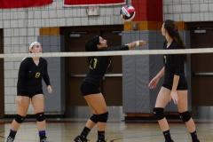 CIAC Girls Volleyball; Wolcott 0 vs. Woodland 3 - Photo # (492)