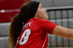 CIAC Girls Volleyball; Wolcott 0 vs. Woodland 3 - Photo # (51)