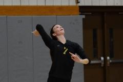 CIAC Girls Volleyball; Wolcott 0 vs. Woodland 3 - Photo # (513)