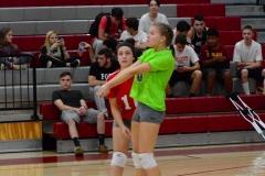 CIAC Girls Volleyball; Wolcott 0 vs. Woodland 3 - Photo # (525)