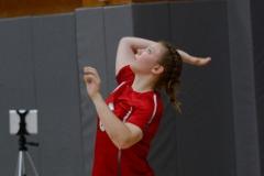 CIAC Girls Volleyball; Wolcott 0 vs. Woodland 3 - Photo # (538)