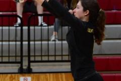 CIAC Girls Volleyball; Wolcott 0 vs. Woodland 3 - Photo # (62)