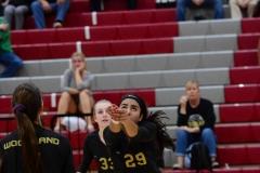 CIAC Girls Volleyball; Wolcott 0 vs. Woodland 3 - Photo # (64)