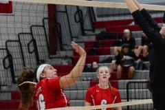 CIAC Girls Volleyball; Wolcott 0 vs. Woodland 3 - Photo # (69)