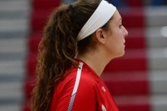 CIAC Girls Volleyball; Wolcott 0 vs. Woodland 3 - Photo # (70)