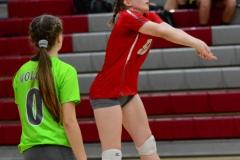 CIAC Girls Volleyball; Wolcott 0 vs. Woodland 3 - Photo # (71)