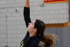 CIAC Girls Volleyball; Wolcott 0 vs. Woodland 3 - Photo # (74)