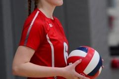 CIAC Girls Volleyball; Wolcott 0 vs. Woodland 3 - Photo # (79)