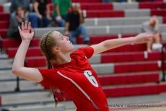 CIAC Girls Volleyball; Wolcott 0 vs. Woodland 3 - Photo # (81)