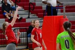 CIAC Girls Volleyball; Wolcott 0 vs. Woodland 3 - Photo # (89)