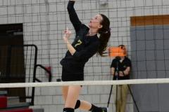CIAC Girls Volleyball; Wolcott 0 vs. Woodland 3 - Photo # (90)