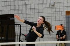 CIAC Girls Volleyball; Wolcott 0 vs. Woodland 3 - Photo # (91)