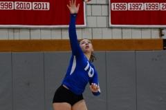 CIAC Girls Volleyball; Wolcott vs. Lewis Mills - Photo # (10)