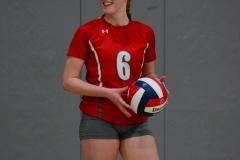 CIAC Girls Volleyball; Wolcott vs. Lewis Mills - Photo # (100)