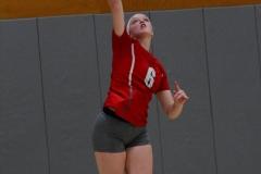 CIAC Girls Volleyball; Wolcott vs. Lewis Mills - Photo # (102)