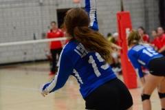 CIAC Girls Volleyball; Wolcott vs. Lewis Mills - Photo # (103)