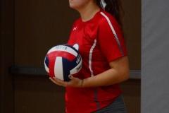 CIAC Girls Volleyball; Wolcott vs. Lewis Mills - Photo # (111)