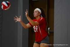 CIAC Girls Volleyball; Wolcott vs. Lewis Mills - Photo # (112)