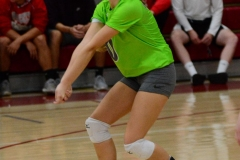 CIAC Girls Volleyball; Wolcott vs. Lewis Mills - Photo # (120)