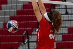 CIAC Girls Volleyball; Wolcott vs. Lewis Mills - Photo # (13)